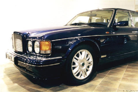 London1999 1998 Bentley Brooklands R Mulliner Front End