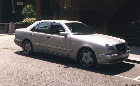 London1999. 1998 Mercedes Benz E55 Amg, Front