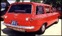 Corvair 700 Lakewood Red Rvrmmod (1961)