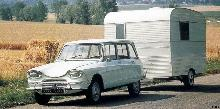 Citroen Ami 6 Break  Caravane (1967)
