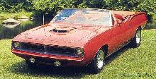 Plymouth Barracuda Convertible (1970)