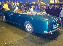 Alvis TD21 3 Litre Convertible Graber Rear three quarter view