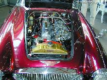 Austin Healey 3000 Mk III 1966 Engine