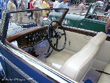 Bentley 4,25 Litre Drophead Coupe Vestersneirinck 1937 Dash