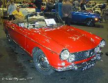 Fiat 1500 Cabriolet 1966 Front three quarter view