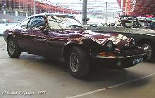 Opel GT 1971 Front three quarter view