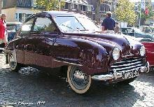 Saab 92b 1955 Front three quarter view