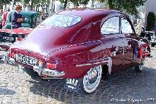 Saab 92b 1955 Rear three quarter view