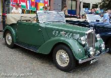 Wolseley 14 56 Convertible 1937