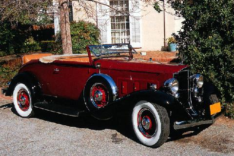 Packard Light Eight Model 900 Coupe Roadster (1932)
