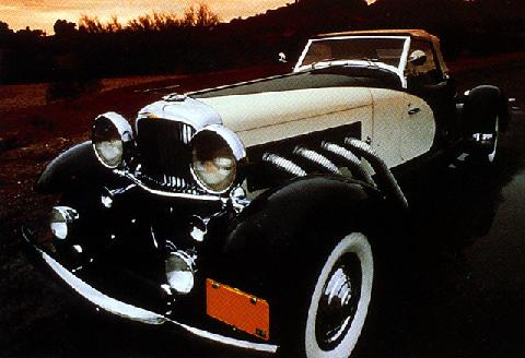 Duesenberg Model Sj Weymann Boat Tail Speedster (1934)