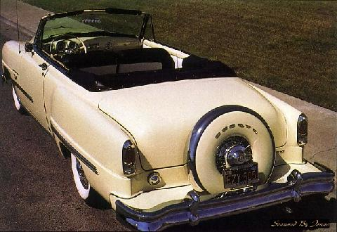 Desoto Firedome Convertible Rear (1953)