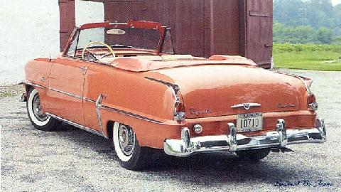 Plymouth Belvedere Convertible (1954)