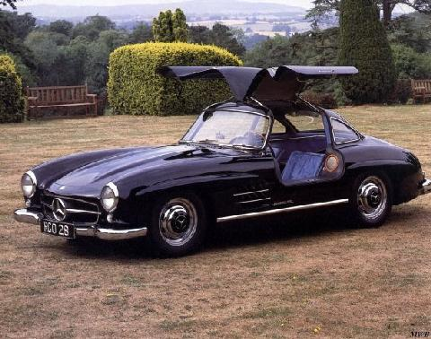 Mercedes Benz 300 SL Gullwing (1955)