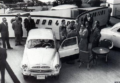 Skoda 440 At Paris (1956)