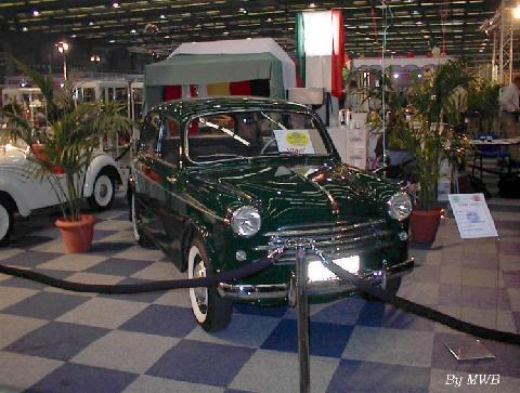 Fiat 1100 103 Vehicle Summary Motorbase