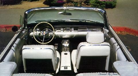 Chrysler 300 L Convertible Interior 1965 Picture