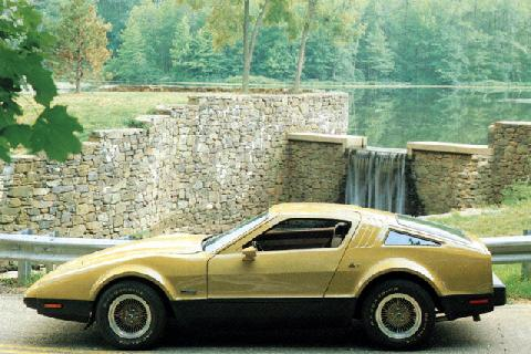 Bricklin Sv 1 Gullwing Sport Coupe (1974)