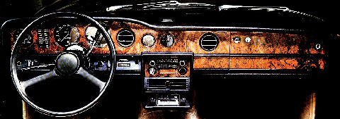 Rr Silver Shadow II Export Dash 2pg Stitch Scan (1977)
