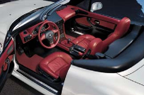 Bmw Z3 2 8 Roadster Interior 1997 Picture Gallery
