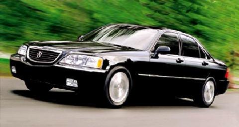 2000 Acura Rl Sedan Black Fvl - Picture Gallery - Motorbase