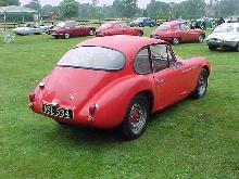 Rochdale Gt, Red Bodywork, Rear Corner View 2