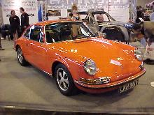 Porsche 911 2.0S (Orange bodywork, front shot)