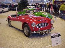 Austin Healey 100-6 (red/white bodywork)