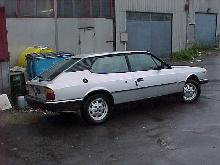 Lancia HPE (Silver bodywork, side view)