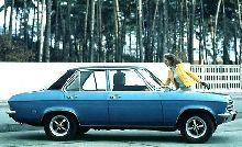 Opel Ascona 4 door saloon