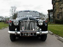 Rover P4 60 (front view)