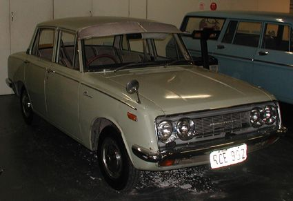 1970 Toyota Corona 1500 at National Motor Museum, Birdwood, South Australia