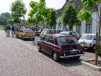 Austin 1300 and MG 1300 at the National Miniature Car Museum in Holland