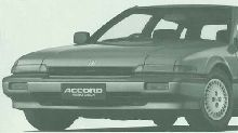 Honda Accord Aerodeck 1985-1989