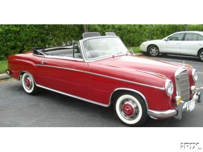 Mercedes 220S Cabriolet (1957)