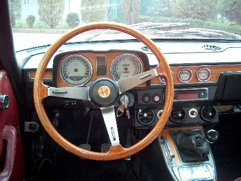 Interior of Berlina 2000 1972