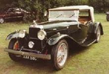 1932 Firefly SA Cross & Ellis Tourer
