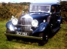 1935 Crested Eagle TG 19.82 Mayfair limousine