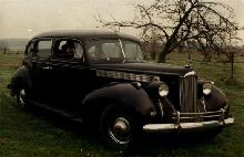 1940 Packard Custom Super Eight One Eighty Touring Sedan, model 1807