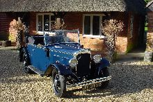 1934 Austin 10/4. Two seater plus dickey seat.
