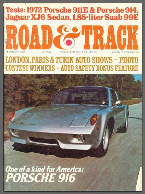72 916 used on the cover of Road and Track.  Currently owned by Automobile Atlanta.