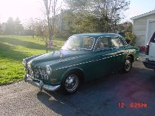 1966 Volvo 122 with the B18 engine