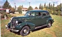 1938 pontiac 4 door touring sedan