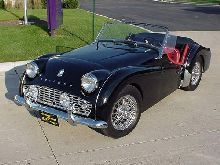 Perfect 1962 Triumph TR3B