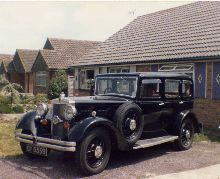 Morris Isis 1932 4 door saloon
