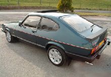 Recent pics of my rare Capri 280 from website www.brooklands280.com