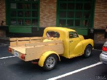 1966 Chopped Morris Minor Timberback ute (converted pickup)
