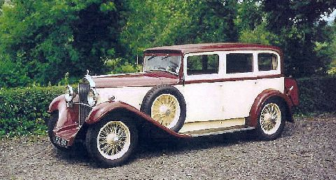 1932 Delage DSL Limo, body by Chapron