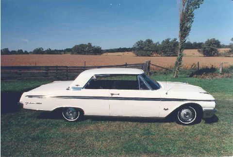 1962 Galaxie 500XL 2 door hardtop.