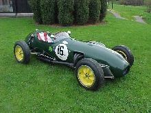 Ex Team Lotus car, chassie 352, now in the hands of Auto Collection car museum in Sweden